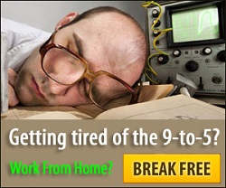 Getting Tired of the 9-to-5? Work From Home? BREAK FREE!