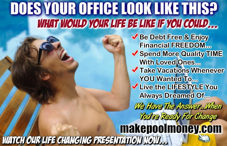 Work From Home by Your Pool